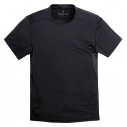 Tee-shirt SPORT noir grande taille homme by Allsize