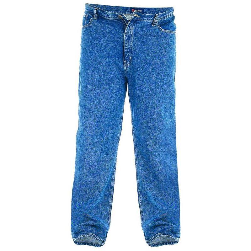 jean bleu carlos grande taille basse homme duke pas cher. Black Bedroom Furniture Sets. Home Design Ideas