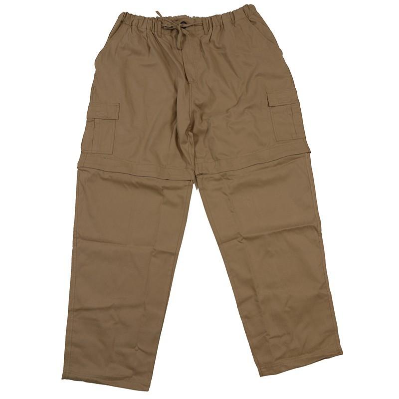 pantalon cargo beige lastiqu grande taille abraxas nouvaut confort 12xl. Black Bedroom Furniture Sets. Home Design Ideas