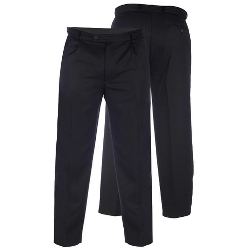 pantalon ville noir wallis grande taille homme duke pas cher. Black Bedroom Furniture Sets. Home Design Ideas