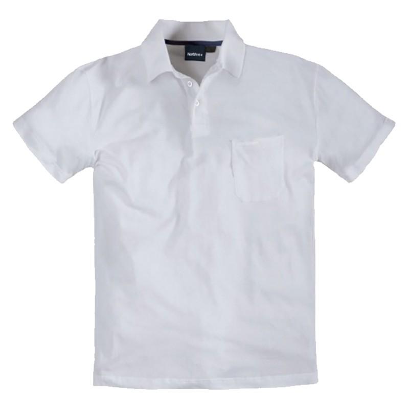 Polo yann blanc grande taille homme allsize qualit pas - Pyjama homme grande taille pas cher ...