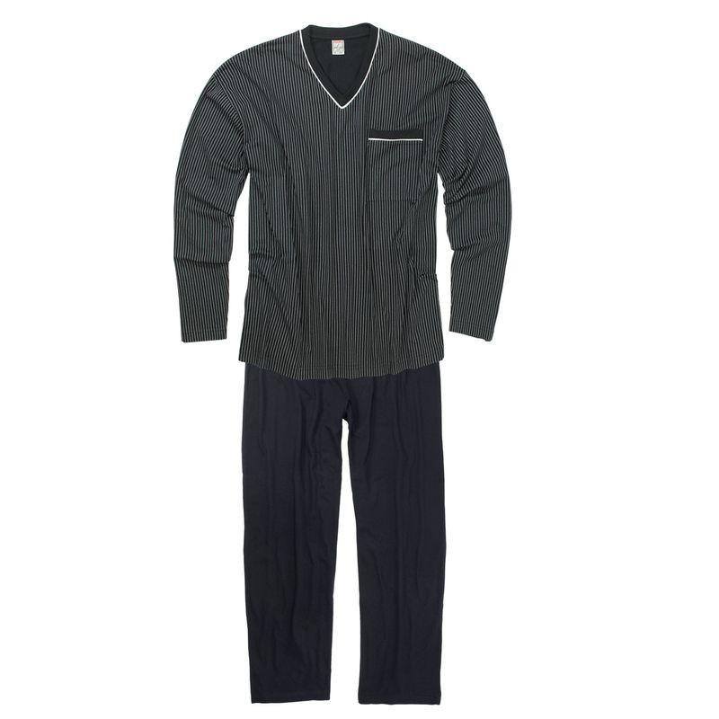 pyjama gustav marine grande taille homme adamo confortable pas cher. Black Bedroom Furniture Sets. Home Design Ideas