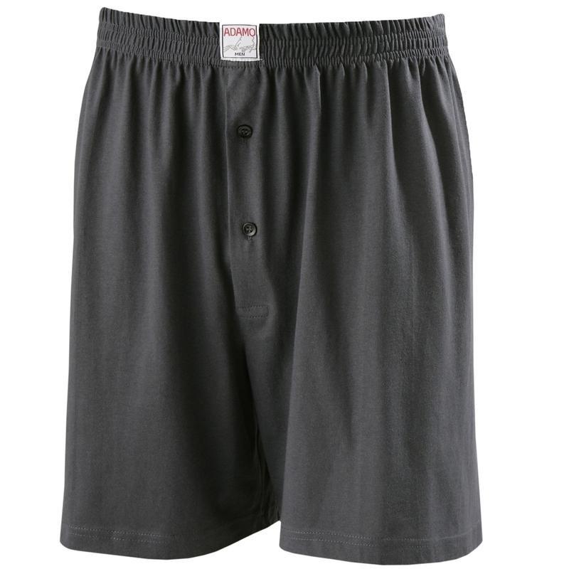 calecon gris grande taille pas cher confortable homme adamo coton. Black Bedroom Furniture Sets. Home Design Ideas