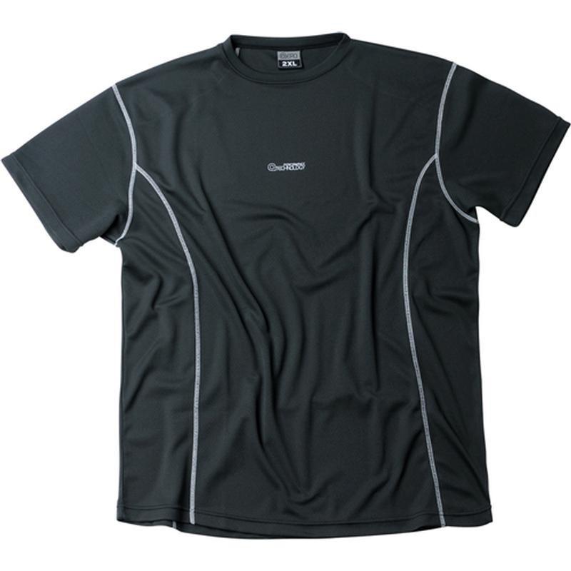 tee shirt aero tech noir grande taille homme allsize marque sport. Black Bedroom Furniture Sets. Home Design Ideas