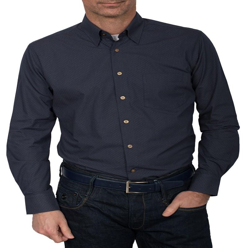 chemise motifs marine grande taille homme nouveaut pas cher qualit. Black Bedroom Furniture Sets. Home Design Ideas