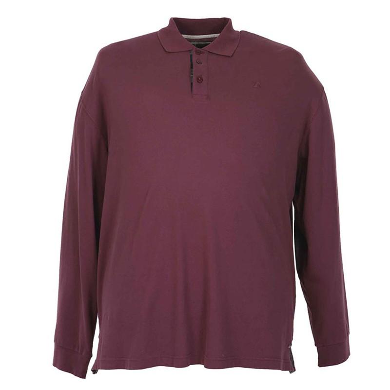 Polo bordeaux grande taille homme nouveaut pas cher coton - Pyjama homme grande taille pas cher ...