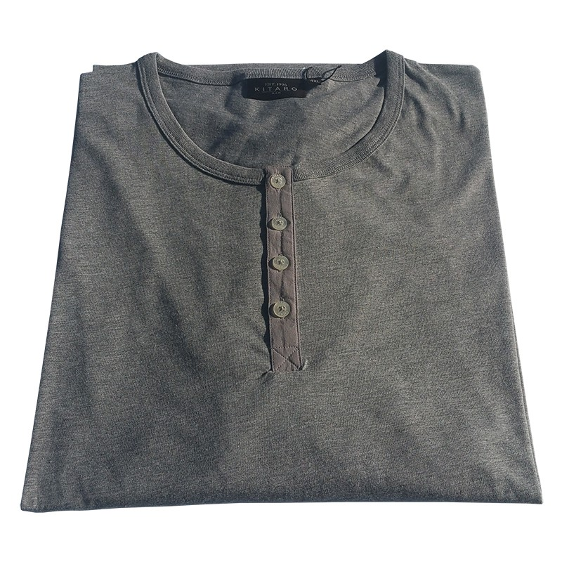 Chemise Manches Longues KITARO blanc grande taille