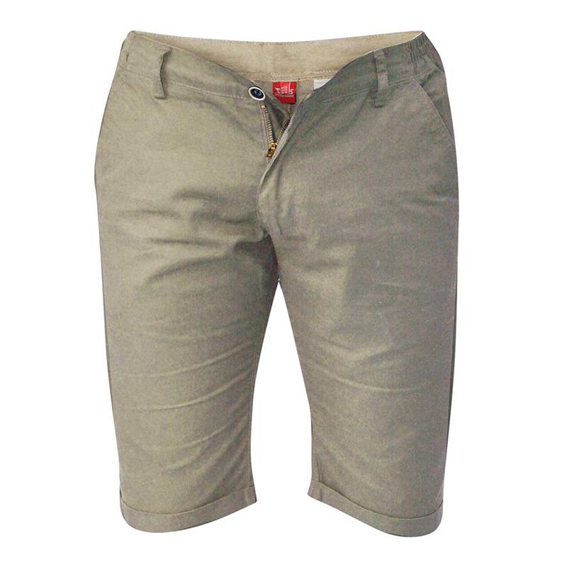c837d5b2de520 Short grande taille homme sable coton nouveauté été Duke Bermuda confort