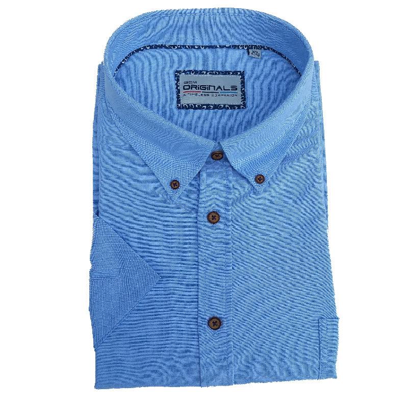b4d058d78a6b chemisette grande taille homme ciel nouveauté 2018 coton pas cher ...