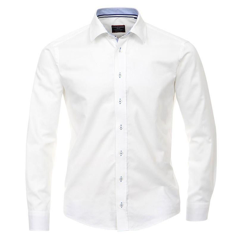 meilleur prix mieux aimé large éventail Chemise CASUAL blanc Grande taille Homme CasaModa Qualité Nouveauté hiver