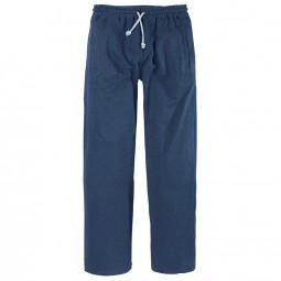 Bas jogging bleu MANHATTAN grande taille homme Allsize confortable ... 5eb04664731