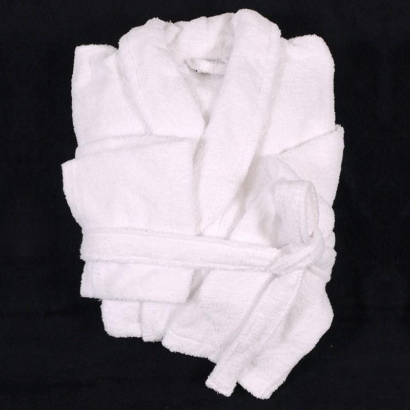 peignoir mickael blanc grande taille homme abraxas qualit coton 10xl. Black Bedroom Furniture Sets. Home Design Ideas