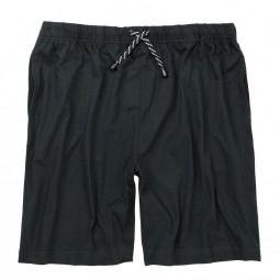 Bas pyjashort GERD noir grande taille homme by Adamo