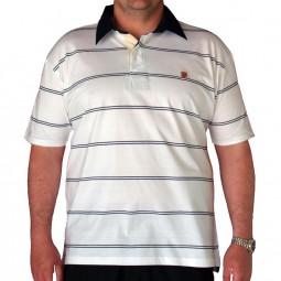 Echarpe rayée BRYCE grande taille homme Duke mode hiver accessoires 2679cd9fc839