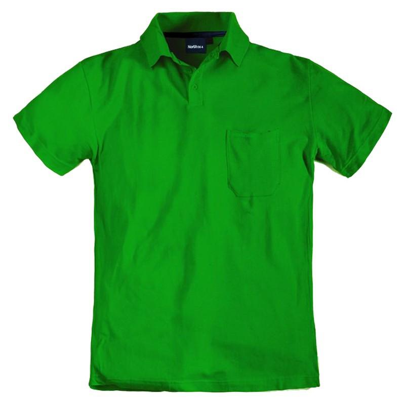 polo yann vert grande taille homme allsize qualit pas cher marque coton. Black Bedroom Furniture Sets. Home Design Ideas