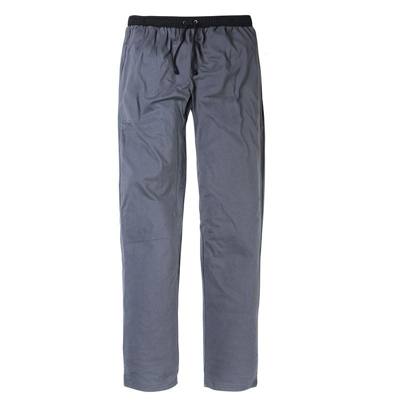 57c2dd4a58435 Pantalon de pyjama PATRICK gris grande taille homme by Allsize. Loading zoom