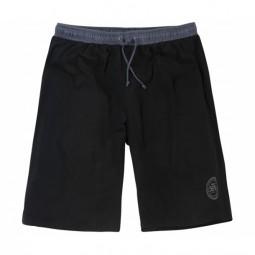 Bas pyjashort PATRICK noir grande taille homme by Allsize