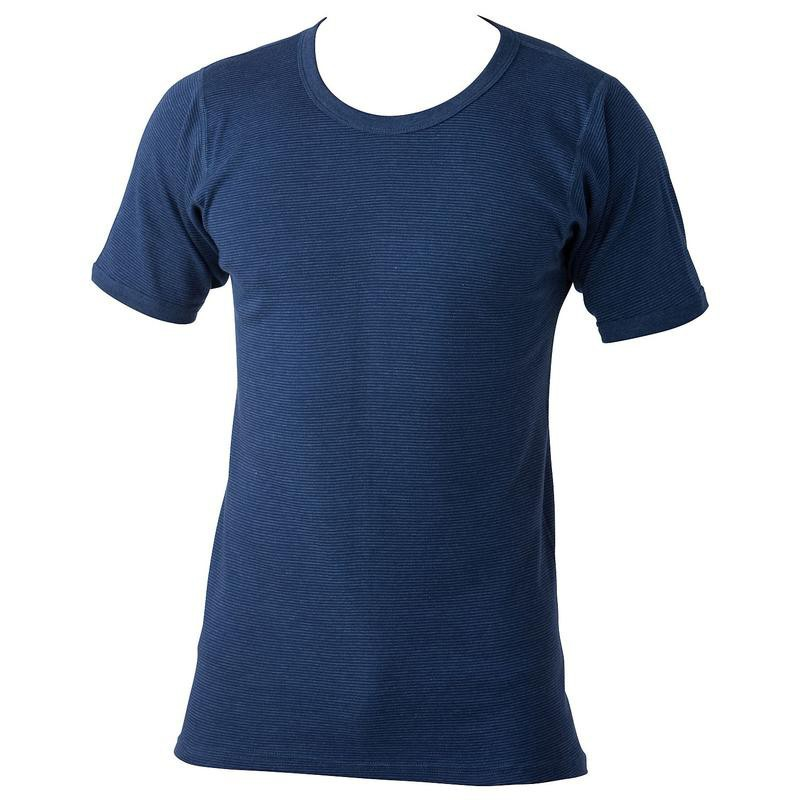 997ba94a9fa9 Maillot de corps coton polyester JEANS bleu grande taille homme by ADAMO.  Loading zoom