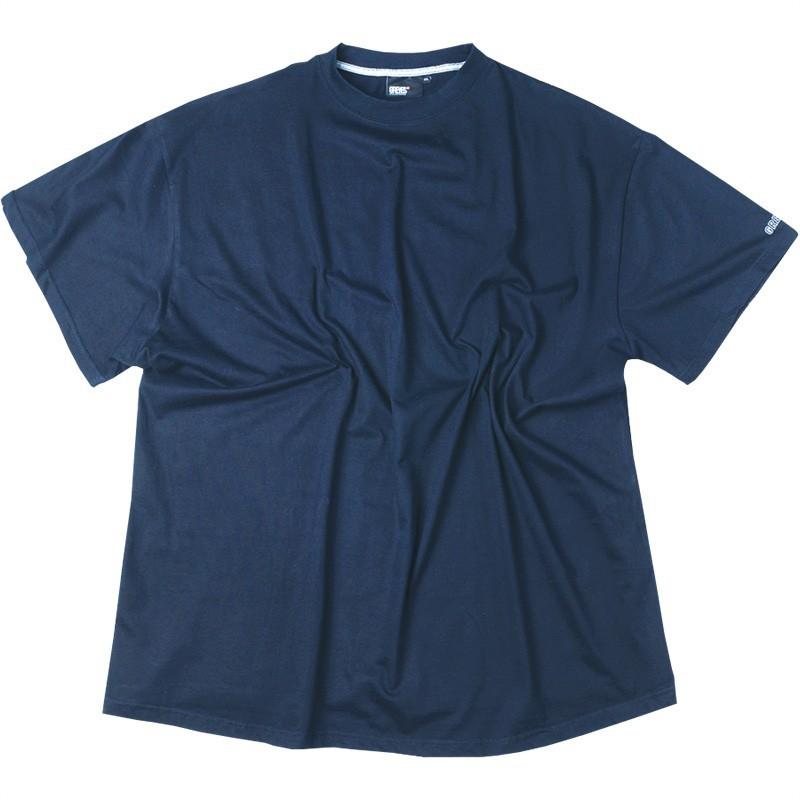 tee shirt marine coton grande taille homme marque allsize. Black Bedroom Furniture Sets. Home Design Ideas