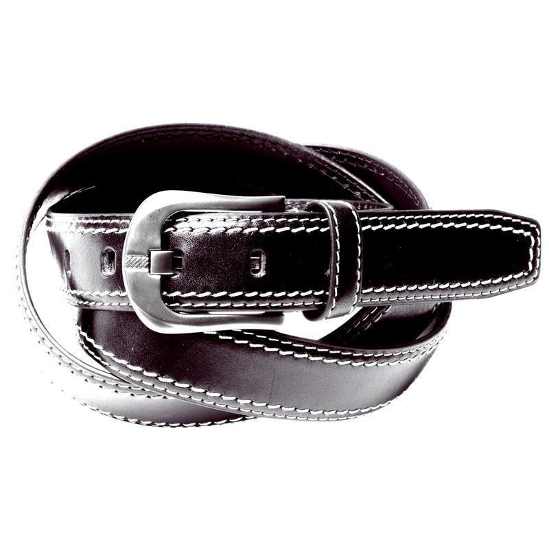 Ceinture cuir noir Allsize Grande Taille Homme Nouveauté accessoire e852b2220fe