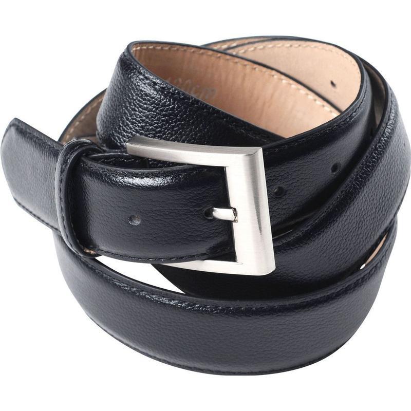 eb2b7f1577ca Ceinture cuir NOOS noir Allsize Vêtements Grande Taille Homme Nouveauté